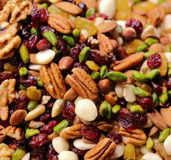 nuts with vitamin E
