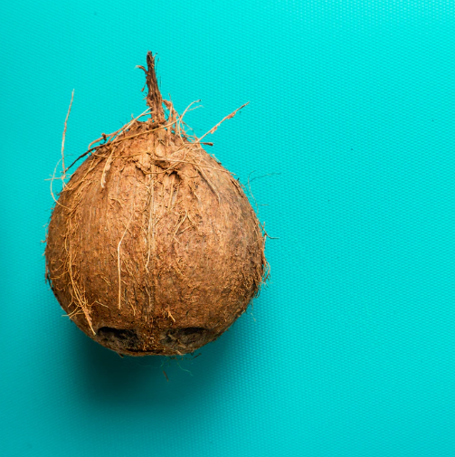 coconut with copper