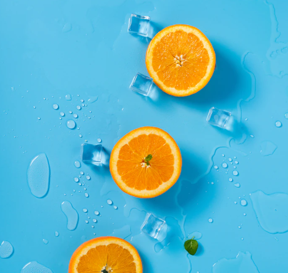 oranges with potassium