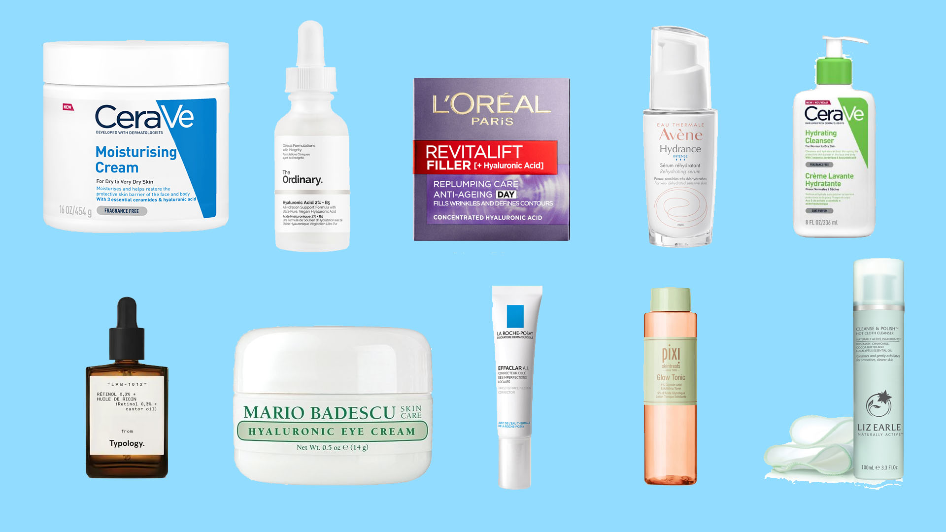 Here Are The Top 10 Skincare Products For Under £20